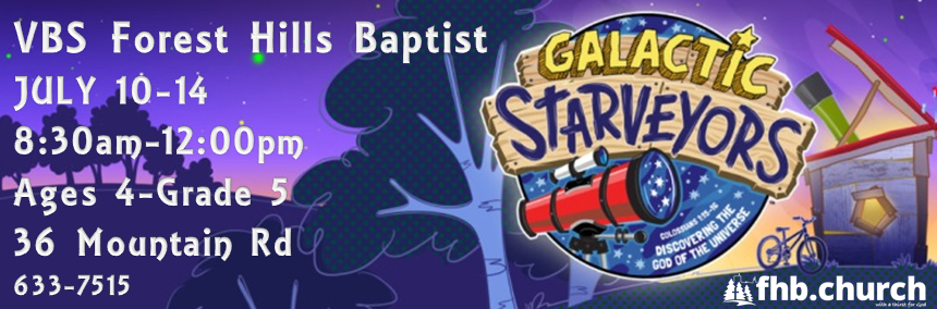 VBS 2017! July 10-14